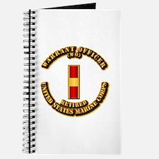 USMC - WO - Retired Journal