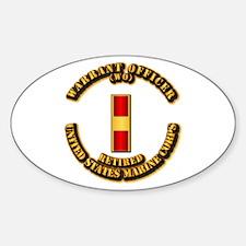 USMC - WO - Retired Decal