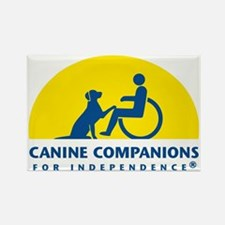 Color Canine Companions Logo Rectangle Magnet