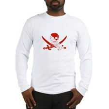 Pirate Skull Long Sleeve T-Shirt