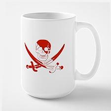 Pirate Skull Large Mug