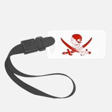 Pirate Skull Luggage Tag