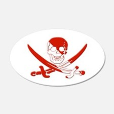 Pirate Skull Wall Decal