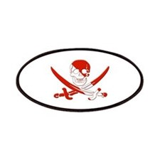 Pirate Skull Patches