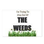 The Weeds Postcards (Package of 8)