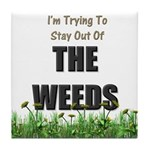 The Weeds Tile Coaster
