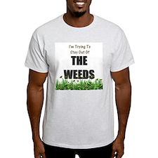 The Weeds Ash Grey T-Shirt
