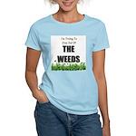 The Weeds Women's Pink T-Shirt