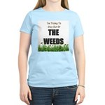 The Weeds Women's Pink T-Shirt