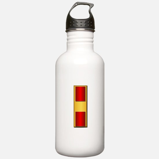 USMC - WO - No Txt Water Bottle
