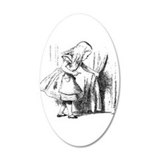 Alice & The Tiny Door Wall Decal