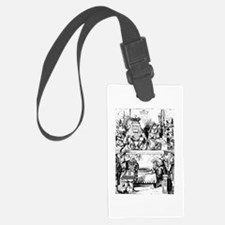 The King & Queen of Hearts Luggage Tag