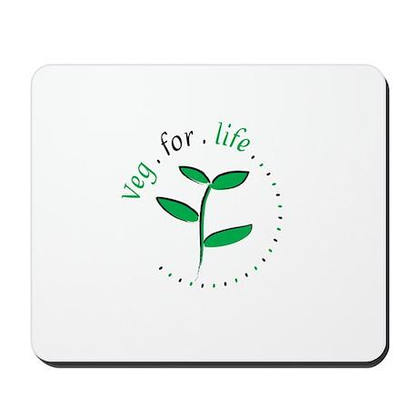 Veg for Life Mousepad