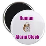 "Human Alarm Clock 2.25"" Magnet (10 pack)"