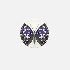 Butterfly Mini Button