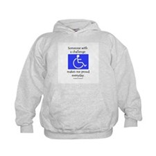 """Wheelchair Pride"" Hoody"
