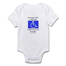 """Wheelchair Pride"" Infant Bodysuit"
