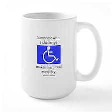 """""""Wheelchair Pride"""" Mug"""