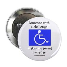 """Wheelchair Pride"" Button"