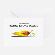 """Real Men"" Greeting Cards (Pk of 10)"