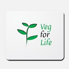 Veg for Life Mousepad