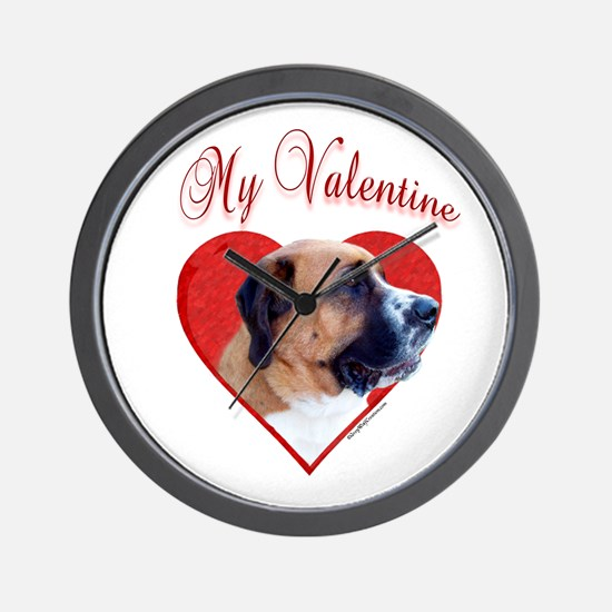 Saint Valentine Wall Clock