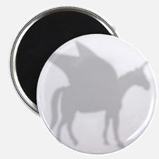 Pegasus silhouette shower curtain Magnet