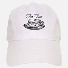 Tea Time Tea Cup Baseball Baseball Cap