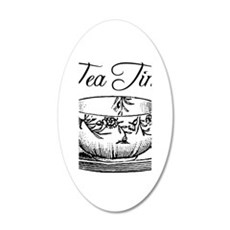 Tea Time Tea Cup Wall Decal