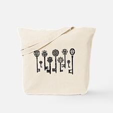 Vintage Keys Tote Bag