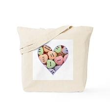 Anti-Valentine Heart Tote Bag