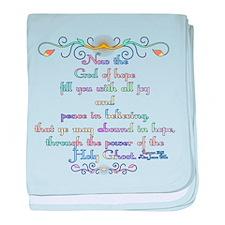 Romans 15:13 Rainbow baby blanket