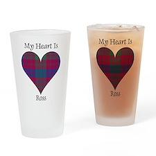 Heart - Ross Drinking Glass
