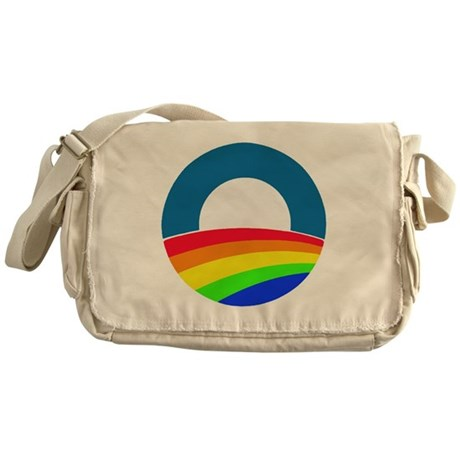 Obama same sex Messenger Bag