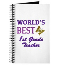 World's Best 1st Grade Teacher Journal
