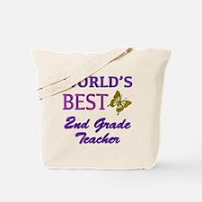 World's Best 2nd Grade Teacher Tote Bag