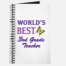 World's Best 3rd Grade Teacher Journal