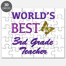 World's Best 3rd Grade Teacher Puzzle