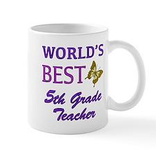World's Best 5th Grade Teacher Mug