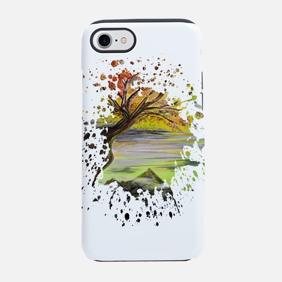 Over Looking Tree iPhone 7 Tough Case
