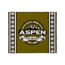 Aspen Olive Throw Blanket