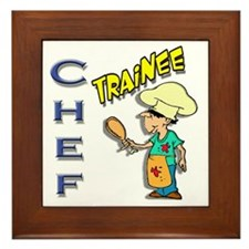 Chef Trainee Framed Tile
