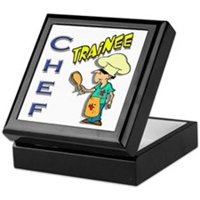 Chef Trainee Keepsake Box