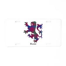 Lion - Ross Aluminum License Plate