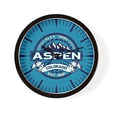 Aspen Ice Wall Clock