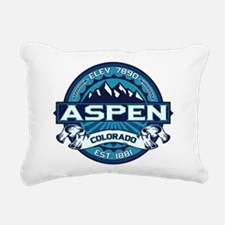 Aspen Ice Rectangular Canvas Pillow