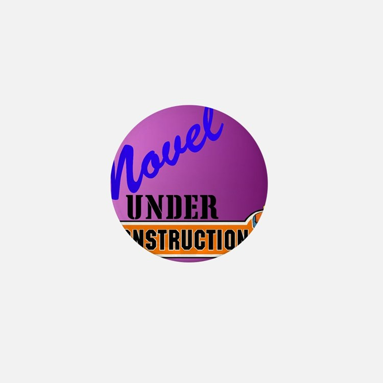 Novel Under Construction journal5a Mini Button
