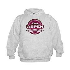Aspen Raspberry Hoodie
