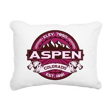 Aspen Raspberry Rectangular Canvas Pillow