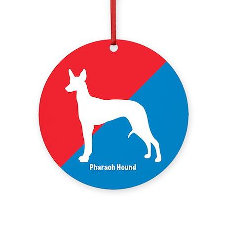 Pharaoh Diagonal Ornament (Round)